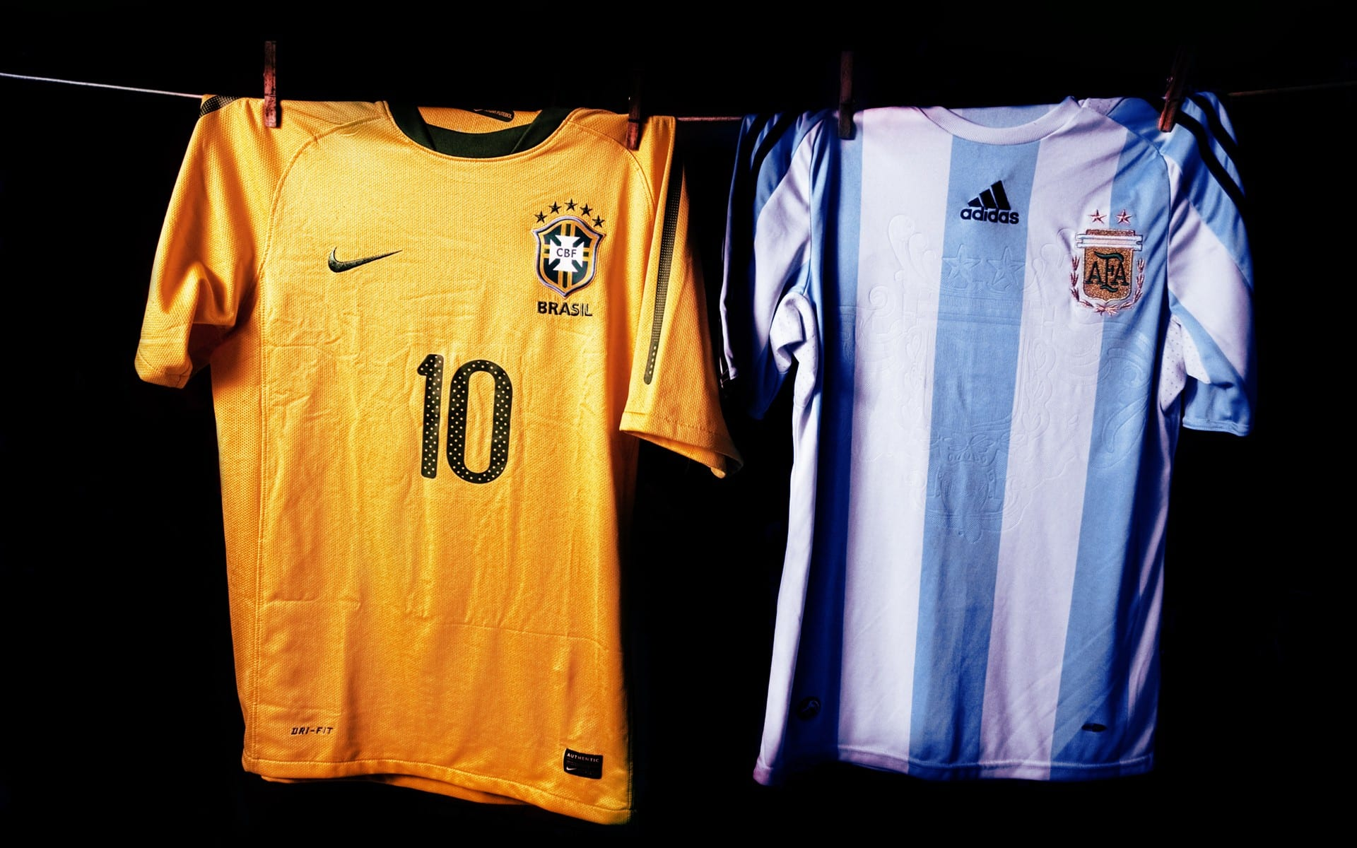 maillots-bresil-argentine